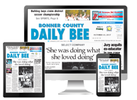 Bonner County Daily Bee - Business, Winning numbers drawn in